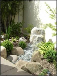 Akmenys sode