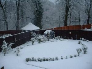 sodas sniege