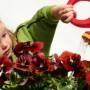Leiskime vaikams padėti dirbant sode