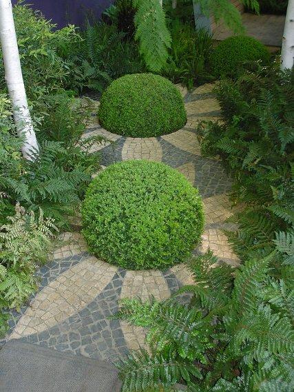 augalai mozaika takelis