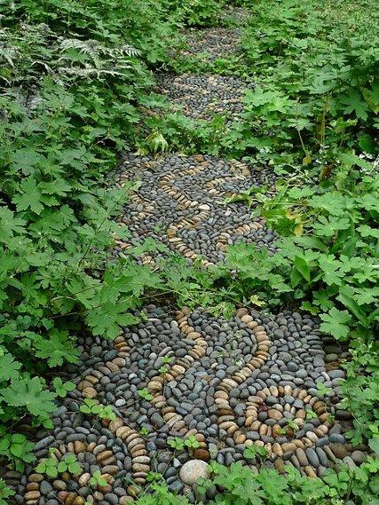 sviesiu akemuku linijos mozaika augalai